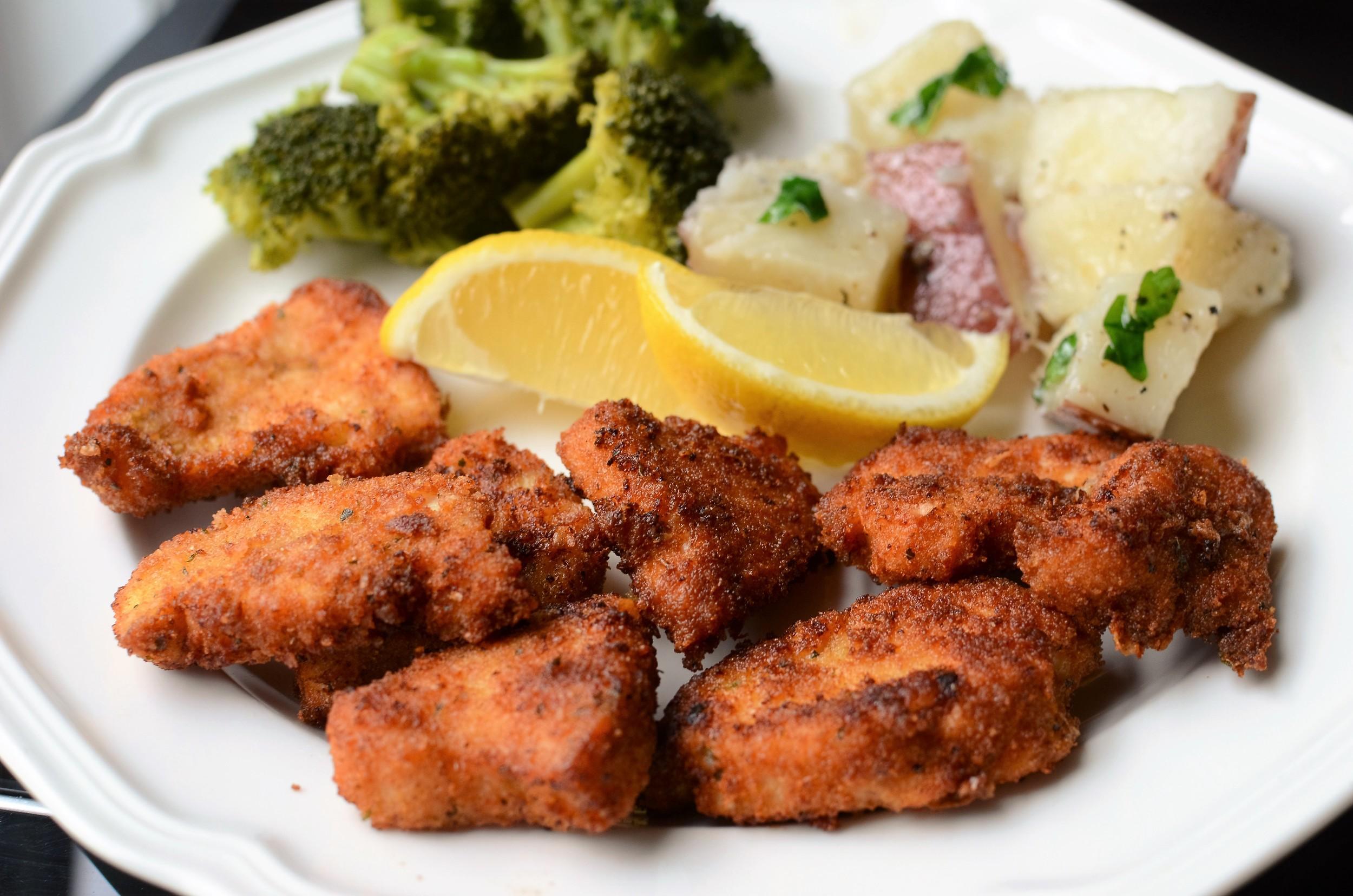 chicken cutlet recipe - chicken nugget recipe - chicken strips recipe - WITH PHOTOS