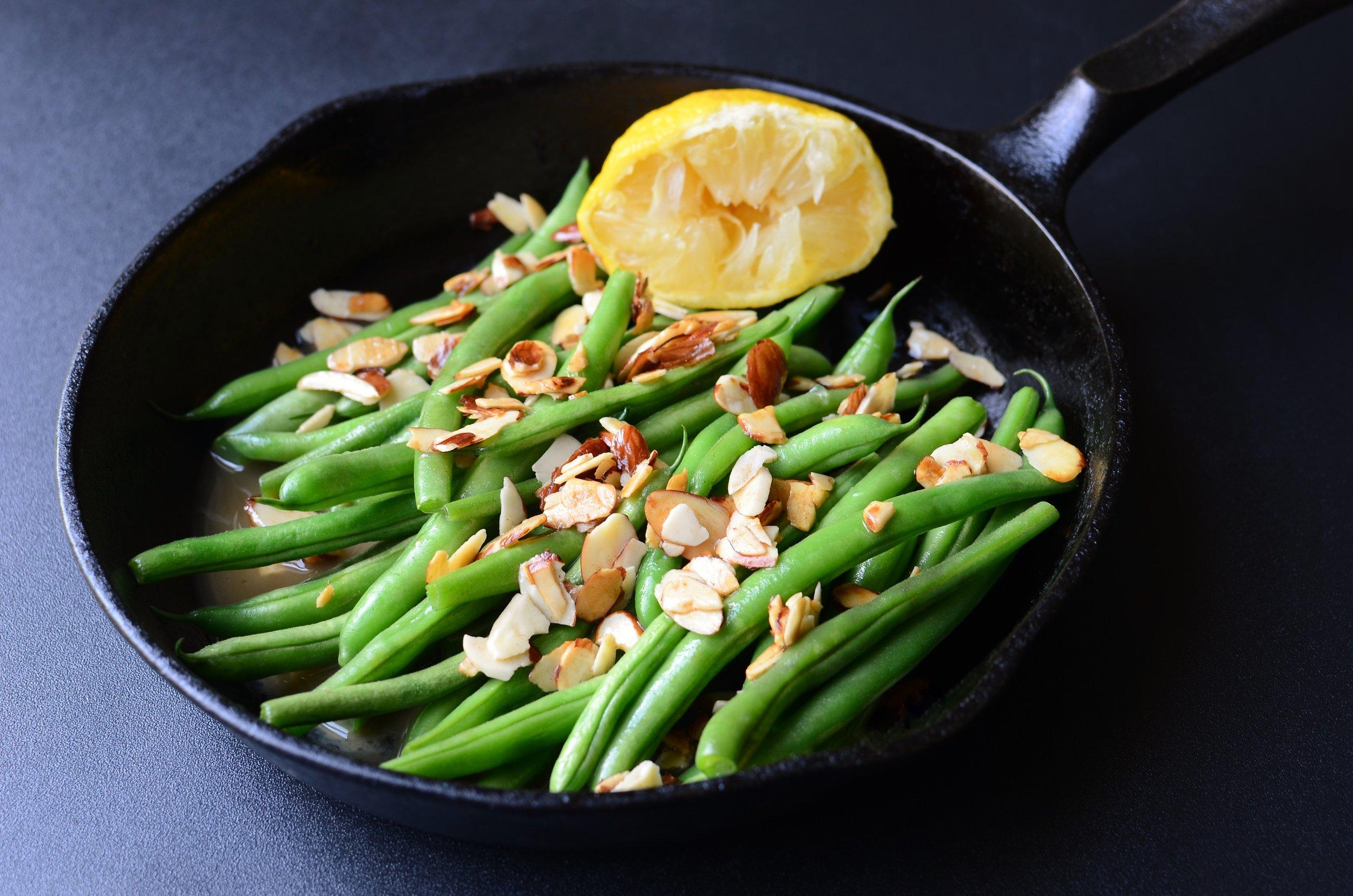 Green Beans Almondine - ButterYum