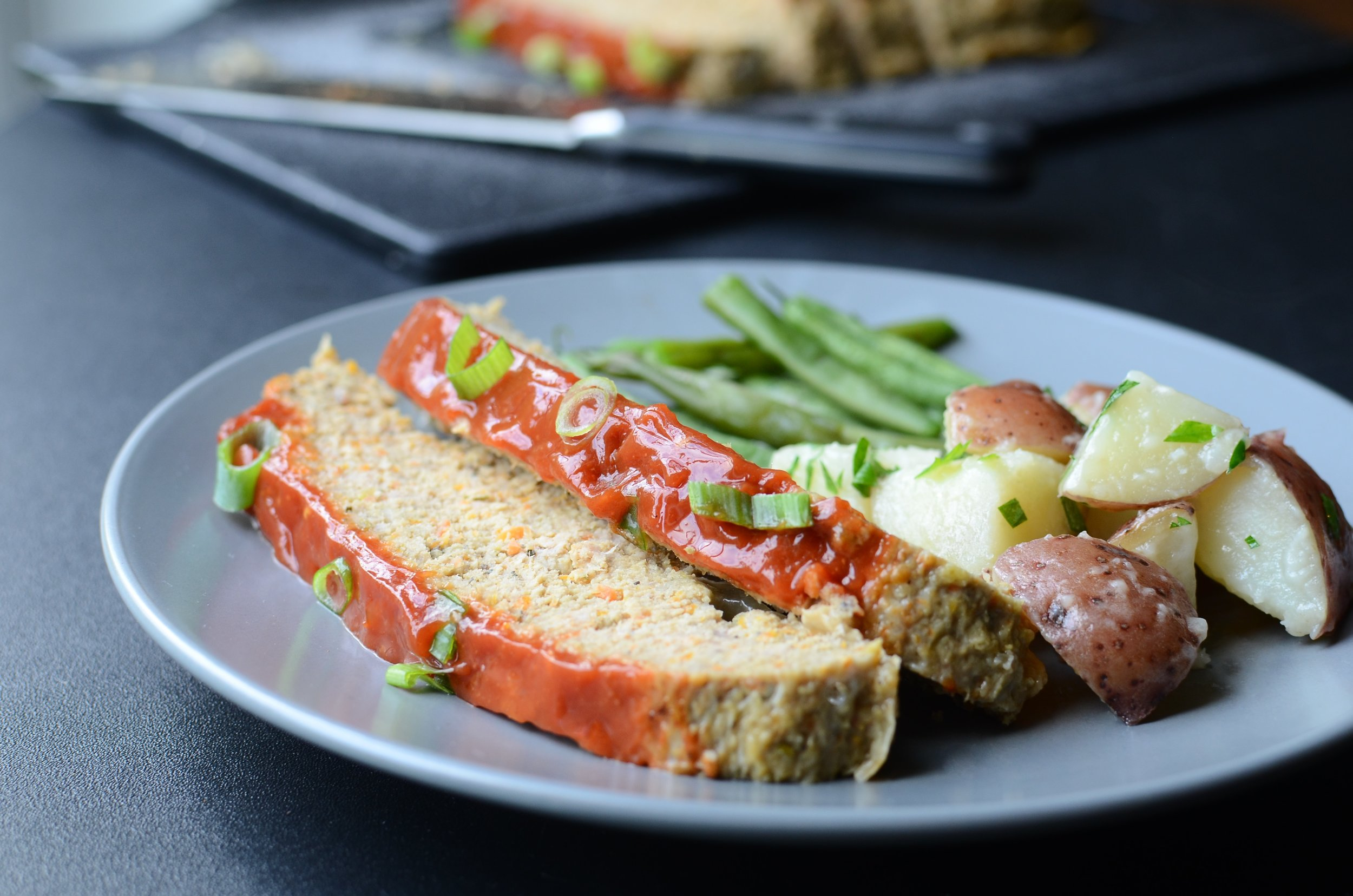 Turkey and Vegetable Meatloaf - ButterYum