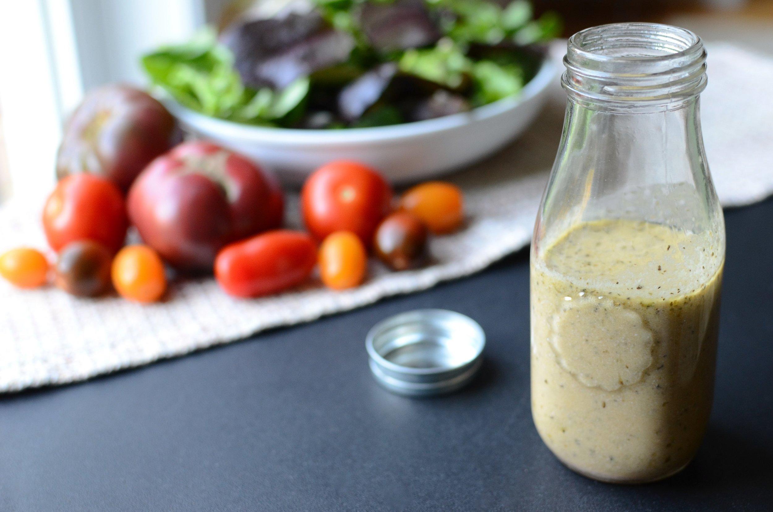 Creamy Greek Salad Dressing - ButterYum, Keto-friendly salad dressing. how to make Greek salad dressing. salad dressing with feta cheese. greek salad dressing recipe. creamy salad dressing recipes.