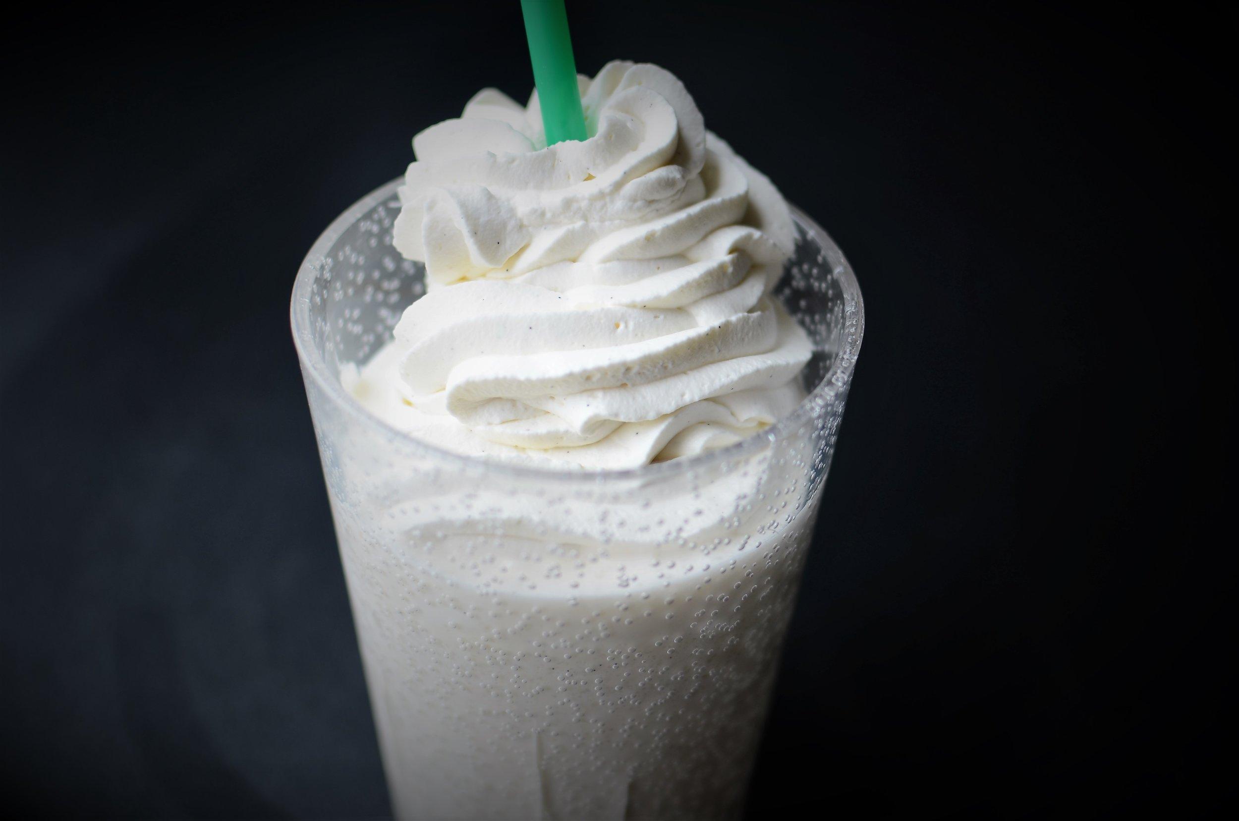 How to make Starbuck's Vanilla Bean Cream Frappuccino Recipe, How to make Starbuck's Vanilla Bean Creme Frappuccino Recipe.