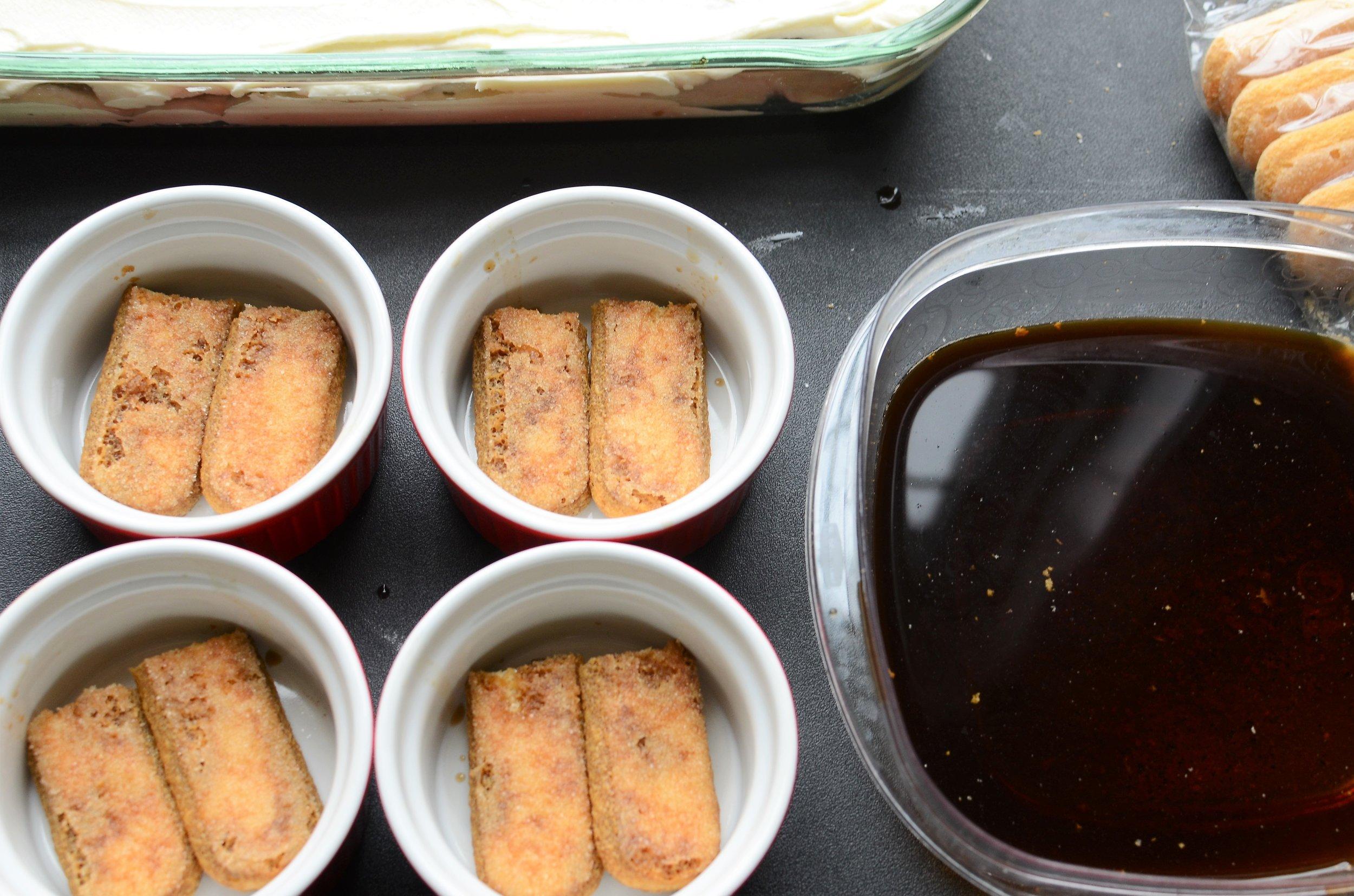 easy individual tiramisu recipe with photos