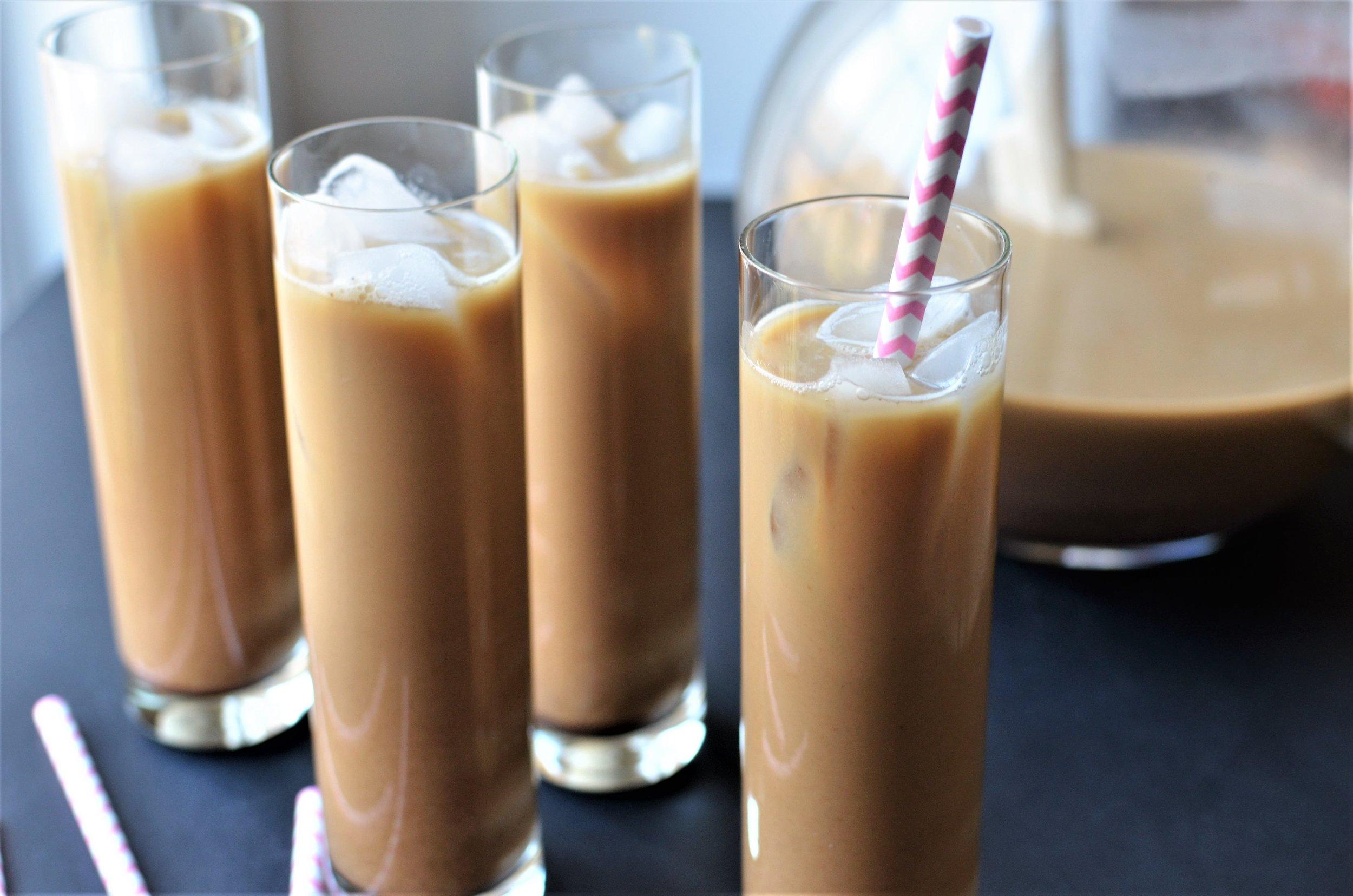 Vietnamese Iced Coffee - ButterYum.  Iced coffee recipe.  How to make spiced ice coffee.