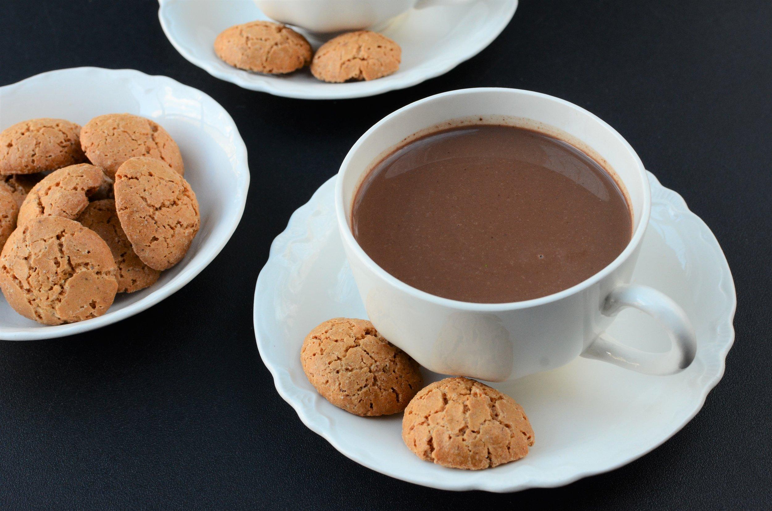 coconut milk hot chocolate recipe - ButterYum