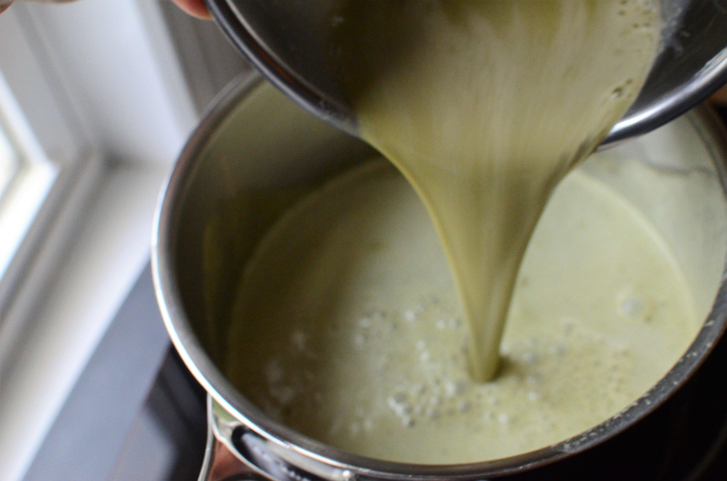 how to make matcha ice cream. how to make green tea ice cream - recipe and how-to photo. ButterYum