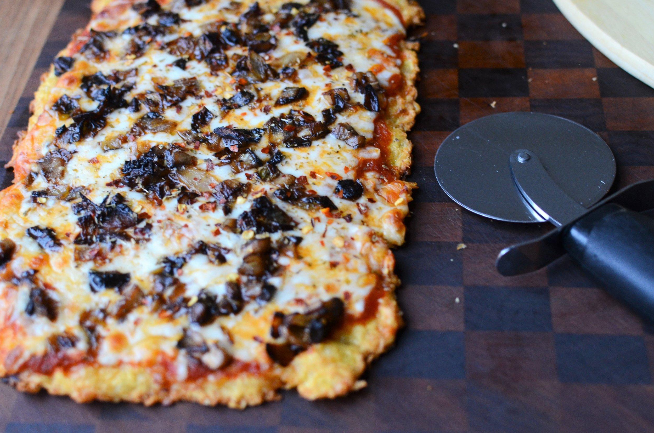No-Carb, No Cauliflower, High Protein, Gluten-Free, Keto-Friendly Pizza Crust
