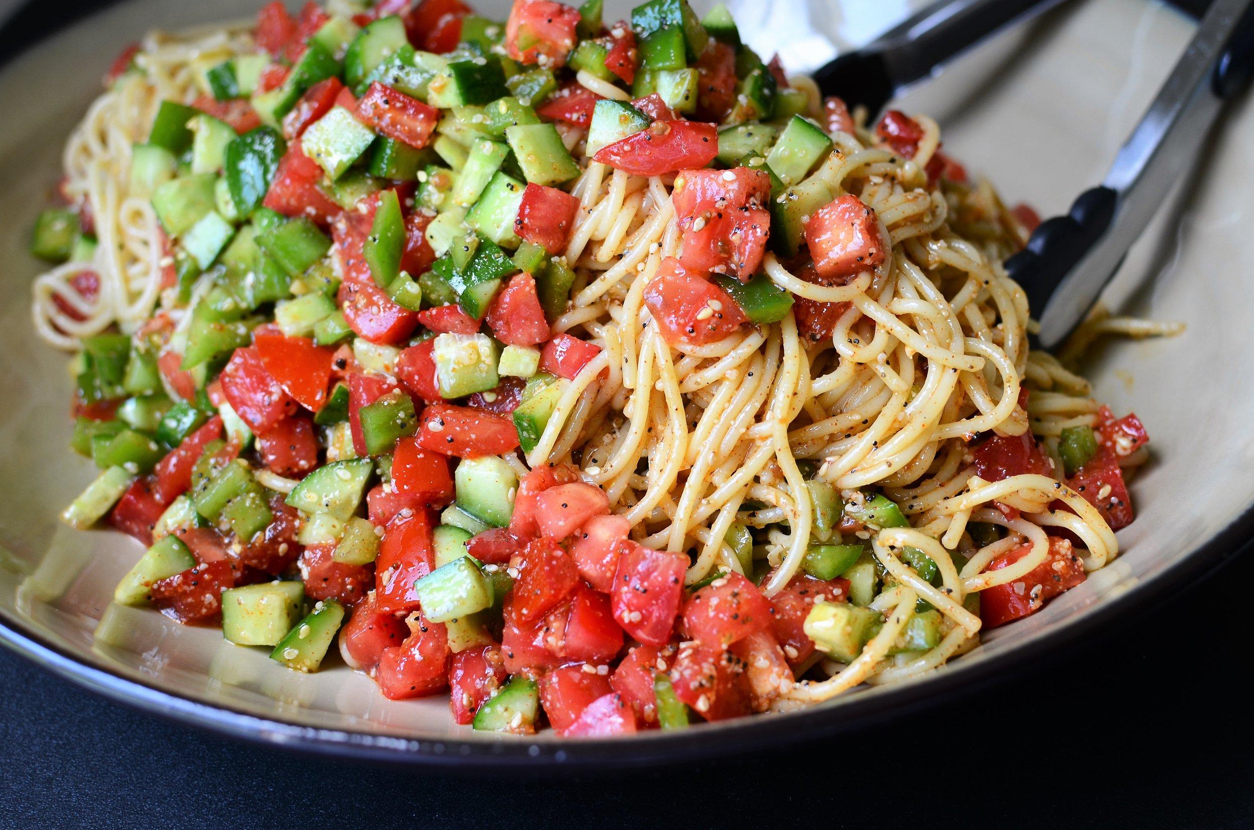 Copycat Supreme Pasta Salad - ButterYum —