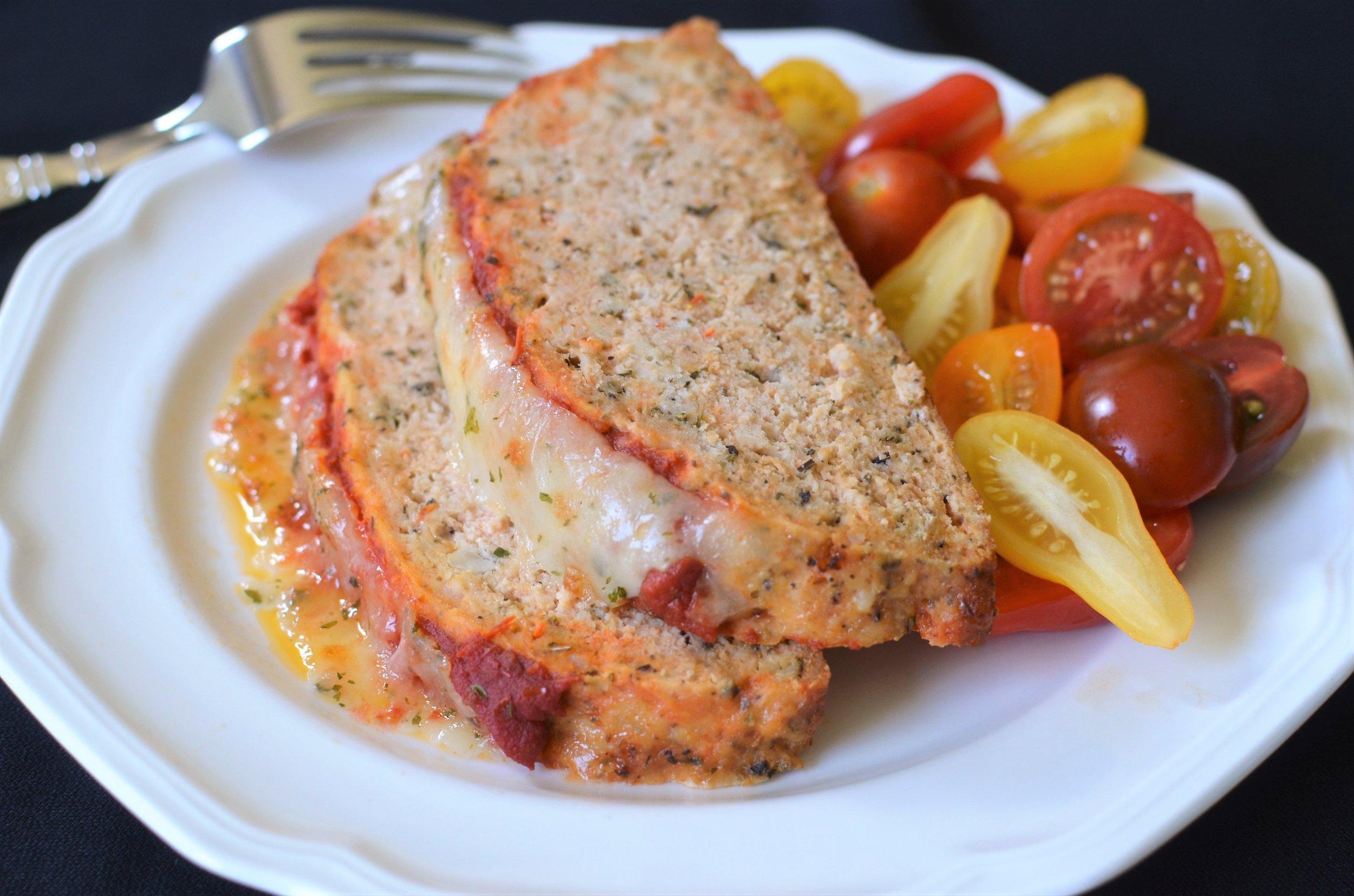 Turkey Meatloaf Italiano - ButterYum --
