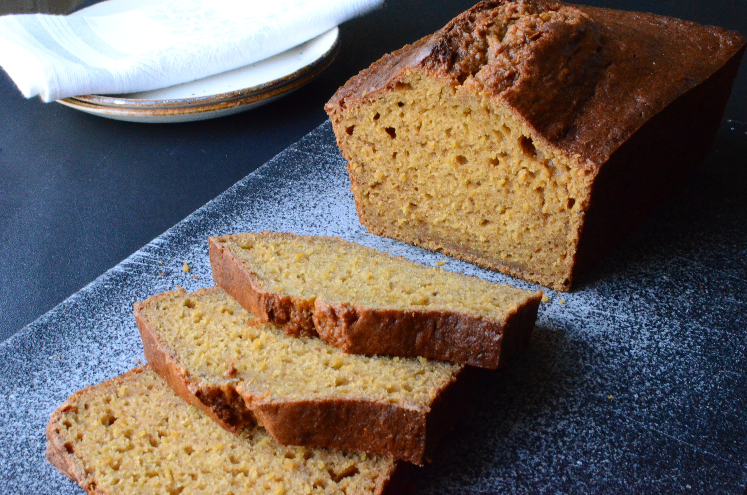 pumpkin spice bread recipe. how to make pumpkin spice bread. how to make pumpkin bread. how to make pumpkin puree. fall quick bread recipe. autumn quick bread recipe.