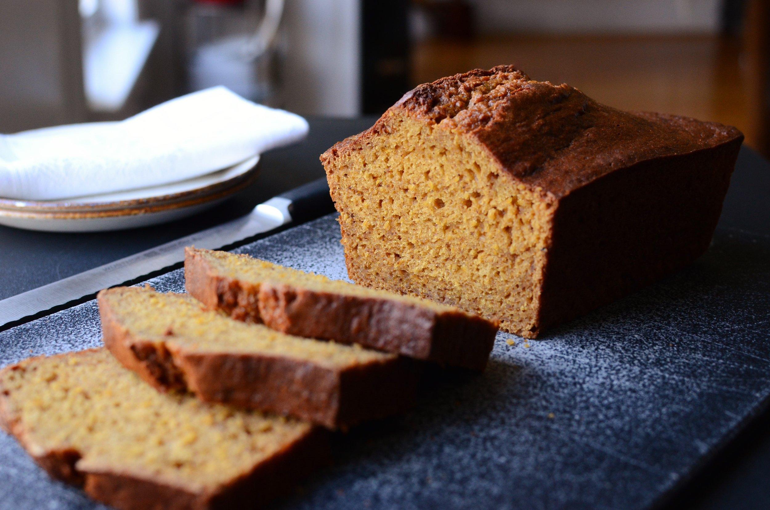 Sweet Pumpkin Spice Bread - ButterYum —