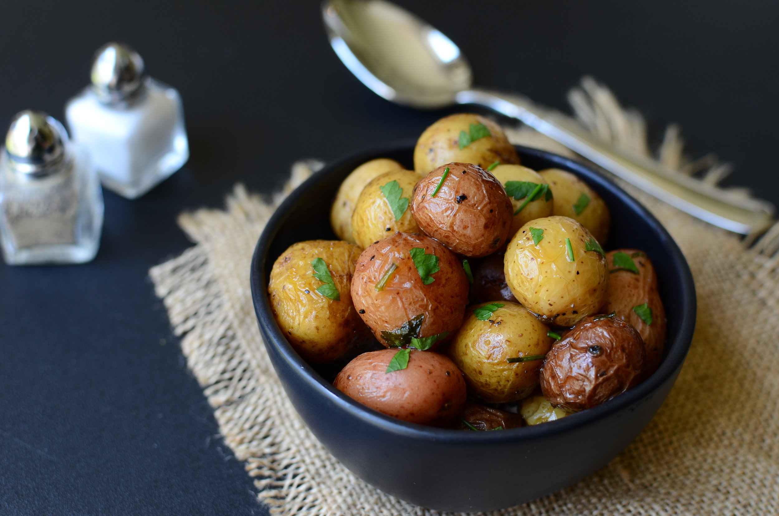 The best tiny potato recipe - ButterYum. how to cook tiny potatoes. instant pot potatoes. creamy potato recipe. tiny steamed potatoes. how to cook bite-size potatoes. how long should I cook tiny potatoes. Aldi potato medley recipe. bite-size potato medley recipe. how long to cook tiny new potatoes. tri-colored baby potato recipe. how to cook baby potatoes.