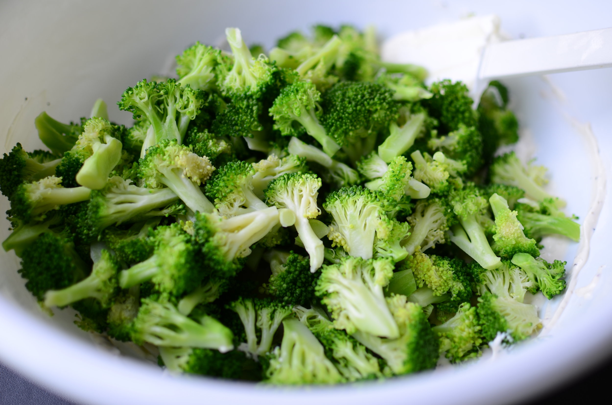 making-broccoli-salad-recipe-butteryum
