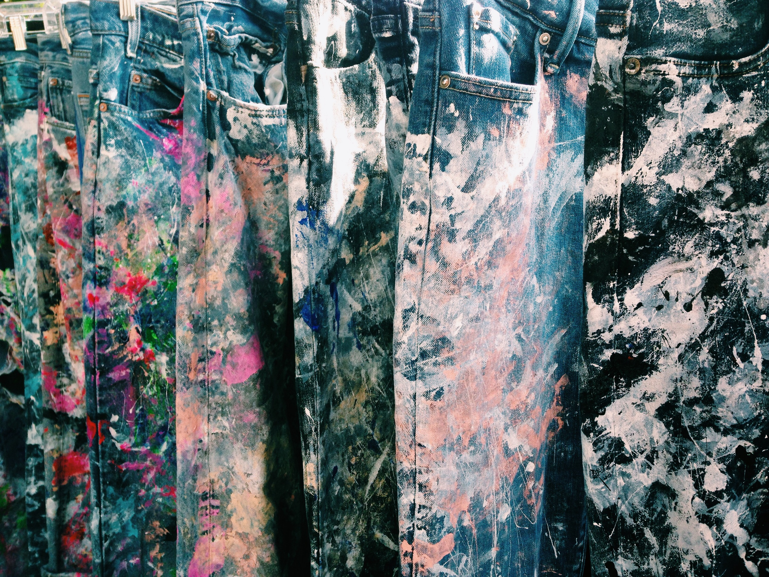 // arts & crafts w  Rialto Jean Project