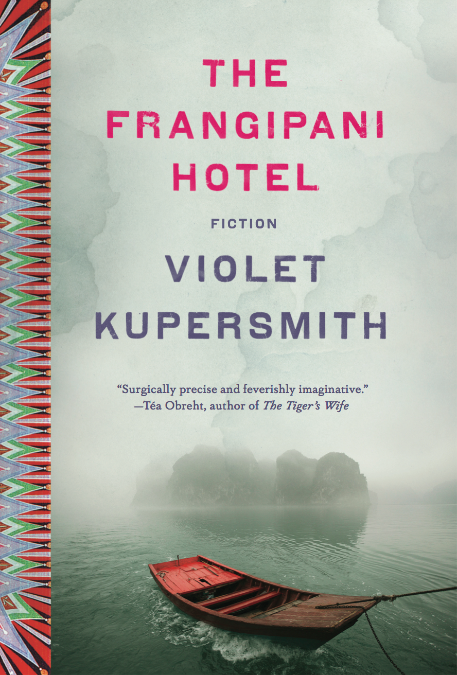 """""""I'm so lucky to have had the chance to work with you, and so very, grateful that once upon a time you saw something in my weird little ghost stories and helped shape them into something greater than I could have ever dreamed up. It would have been impossible without you.""""    -   Violet Kupersmith   , debut author of    THE FRANGIPANI HOTEL   , published by Penguin Random House"""