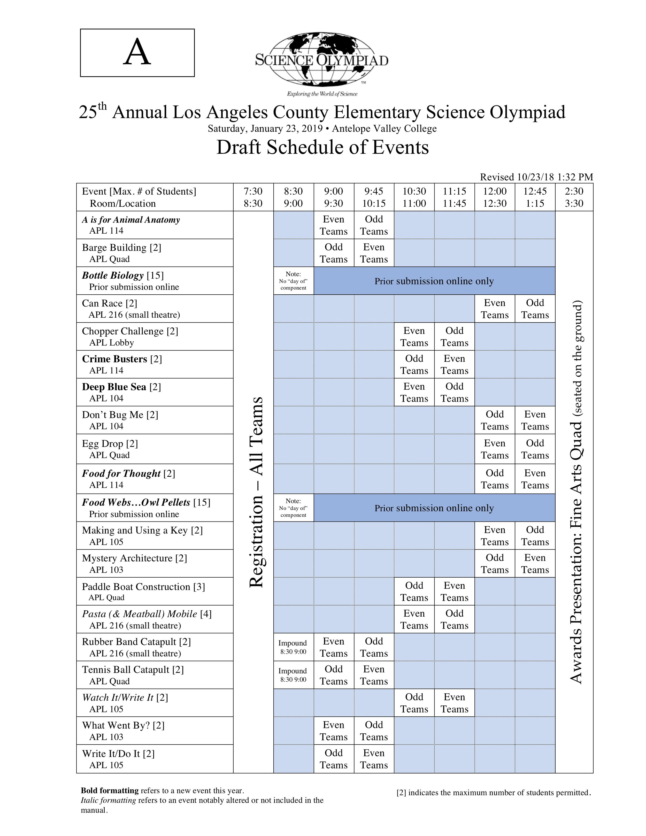 2019 Div A AVC Sciioly Schedule.jpg