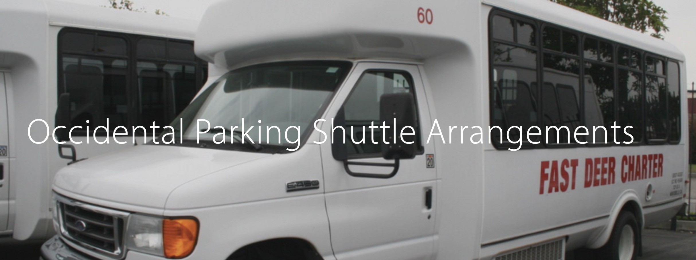 Click here for shuttle schedule