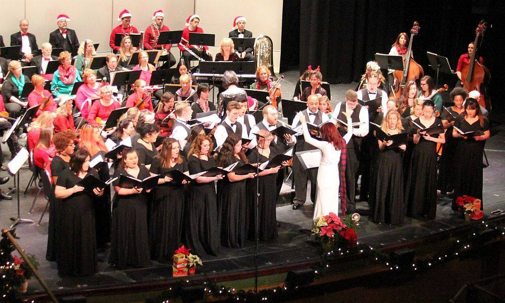 "Ivyside Pride Choir + The Altoona Symphony Orchestra  - ""Home For The Holidays"" at the Mishler Theatre // December 2016"