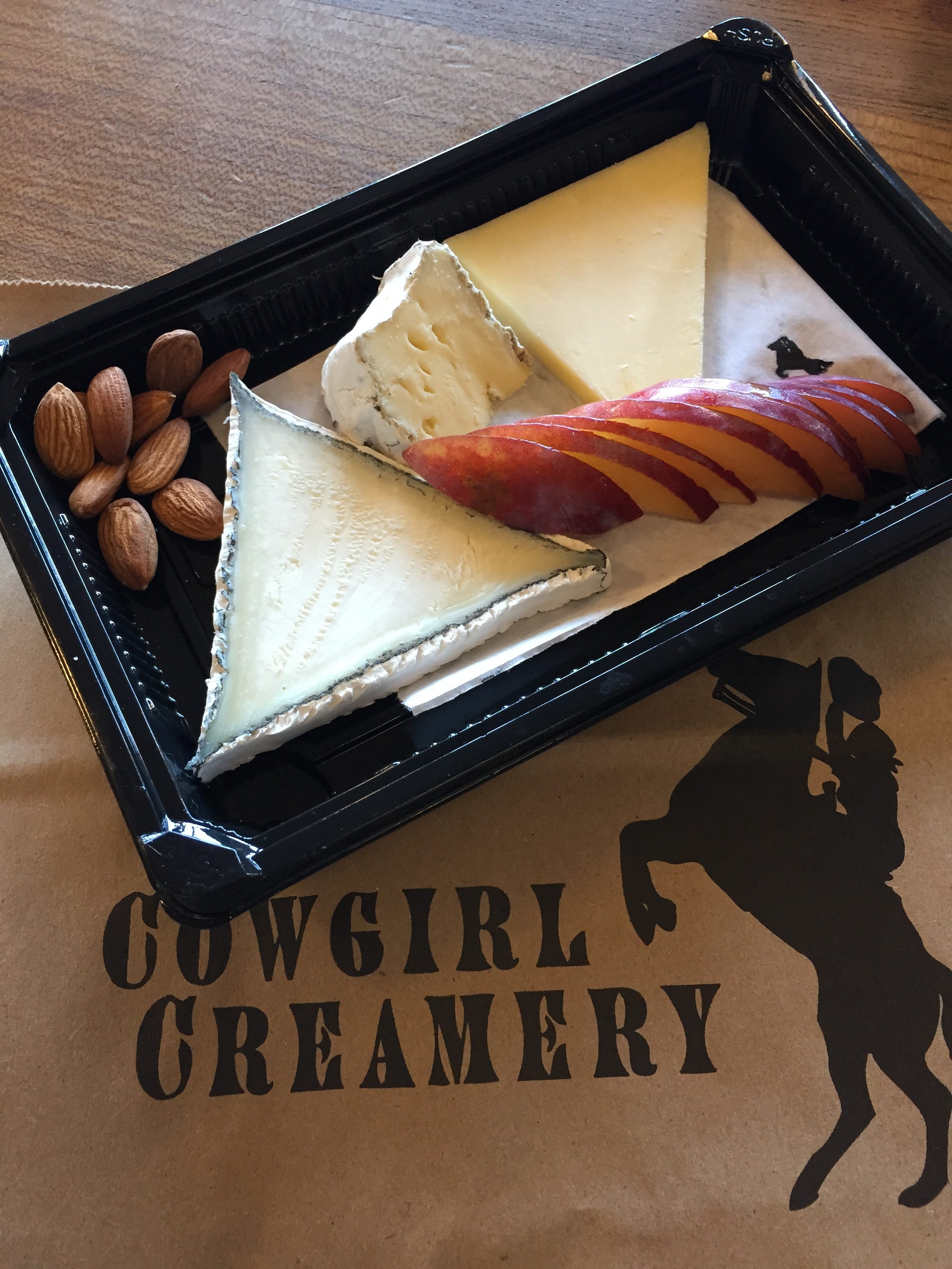 Artisanal Cheese Platter at Cowgirl Creamery