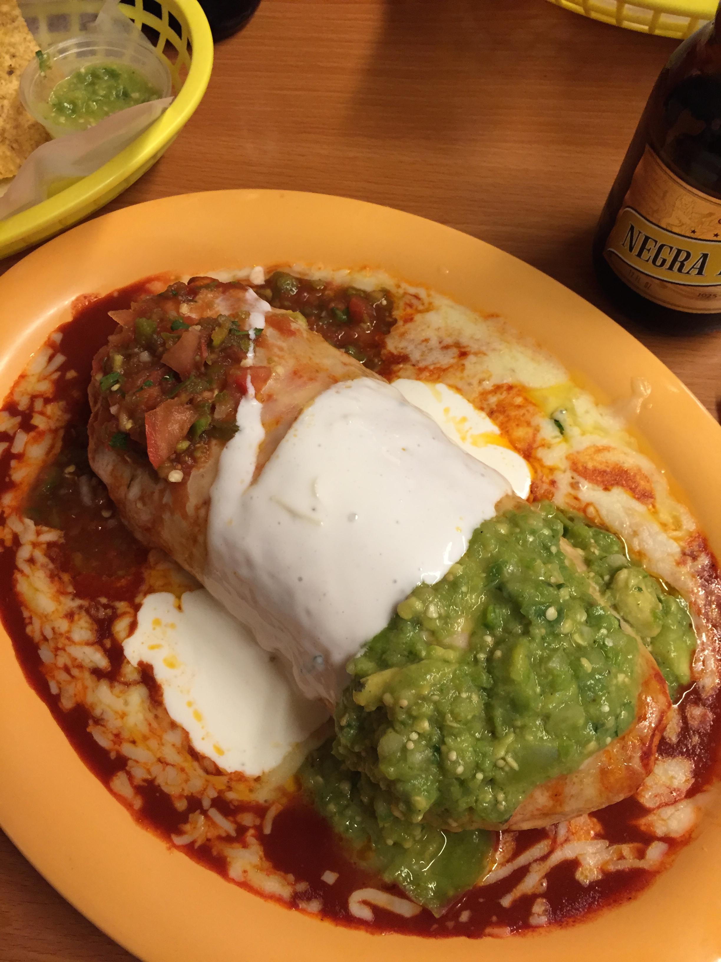 Mojado Burroti at  Taqueria    Cancún