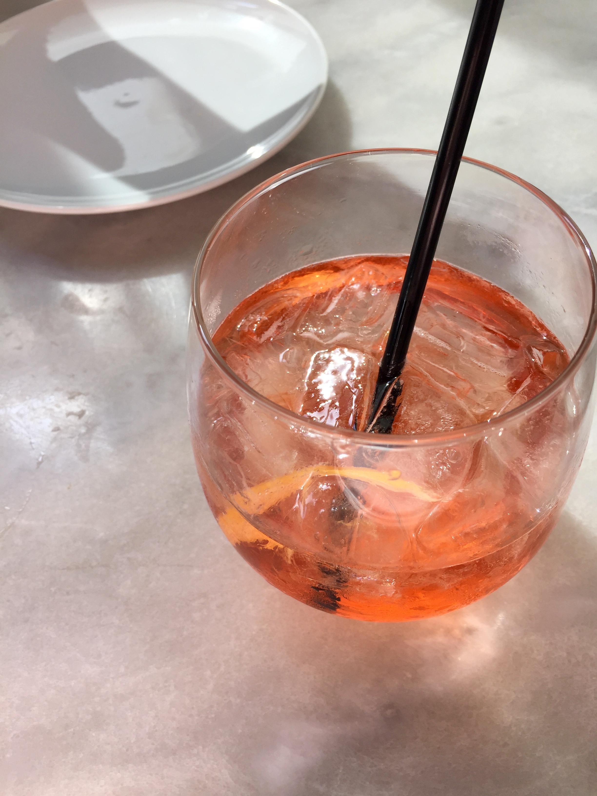 APERTIVO CAPPELLETTI - Prosecco, soda, orange twist.