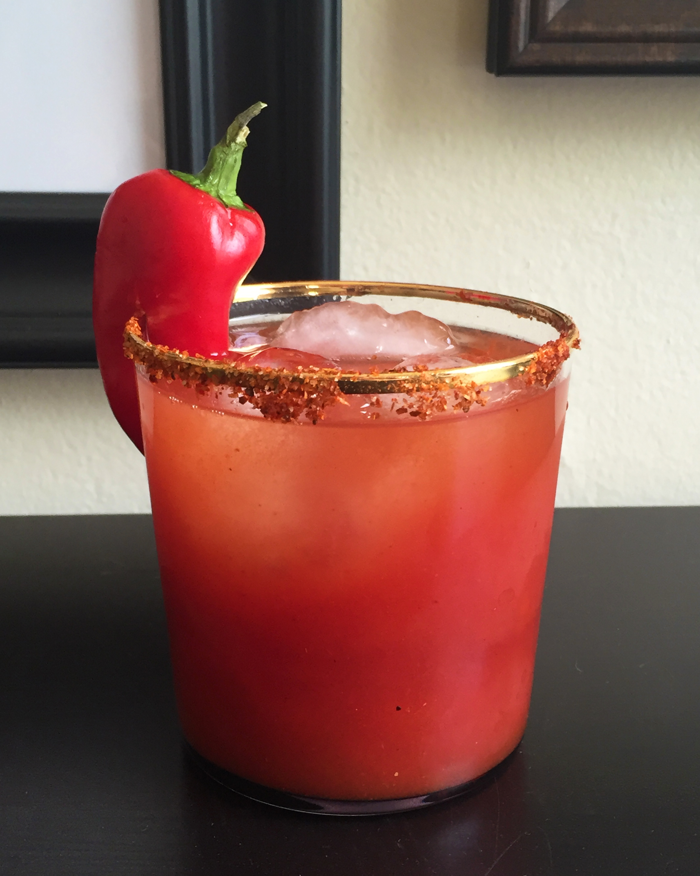 My ultra-spicy take on a Bloody Maria!