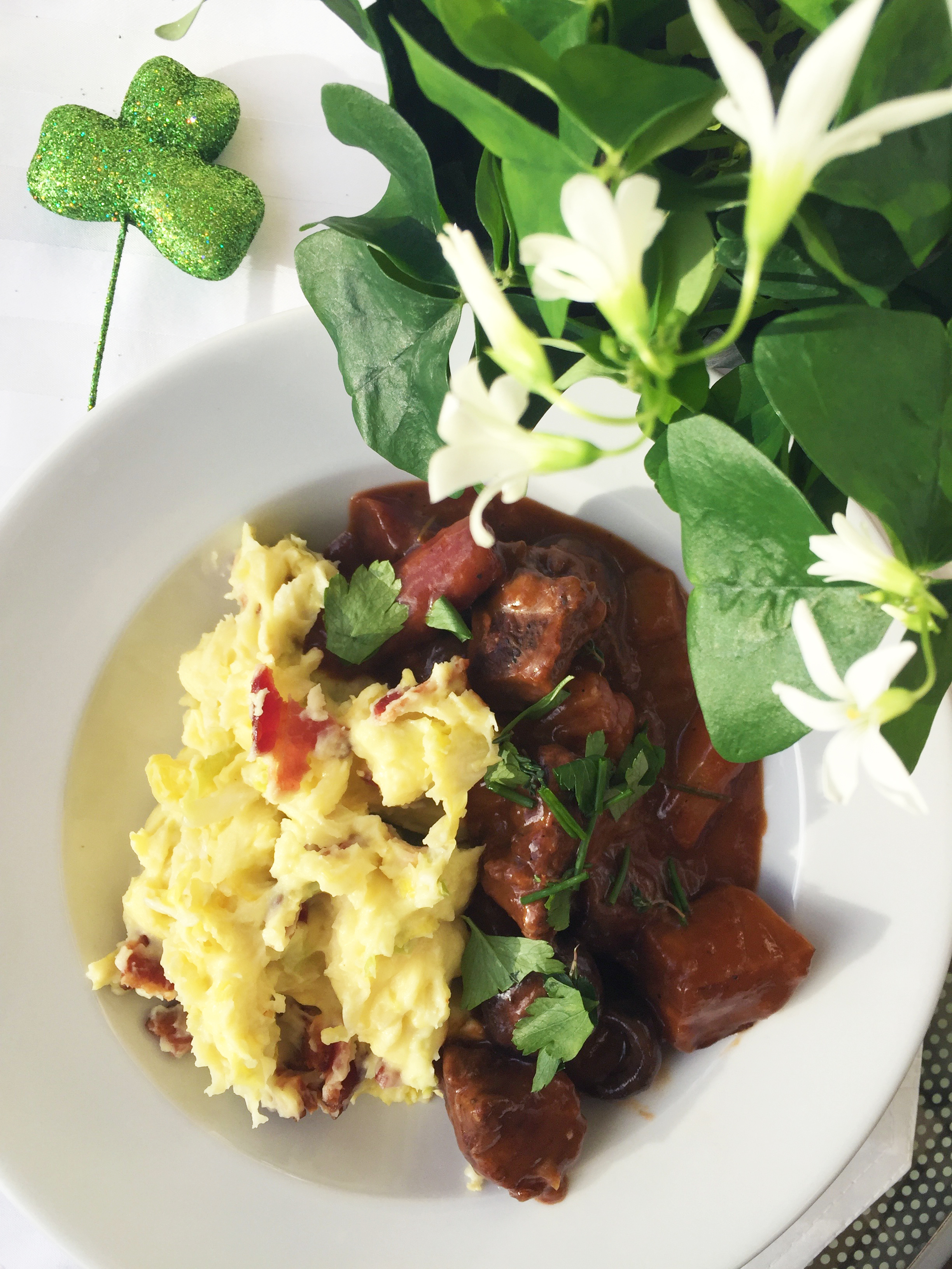 Lamb Stew with Colcannon