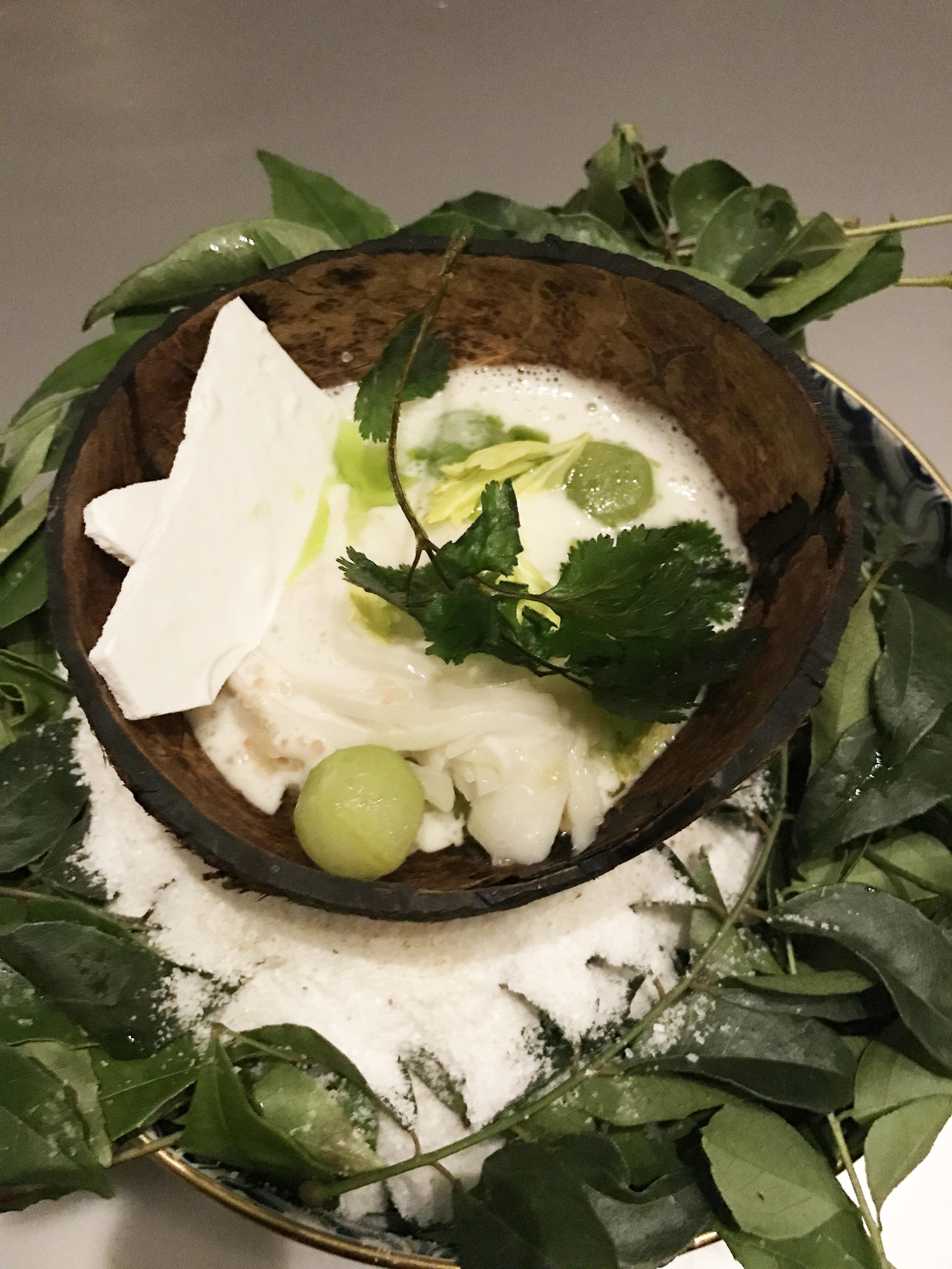 มะพร้าว (COCONUT) - Pompano, Shellfish, Kuzu