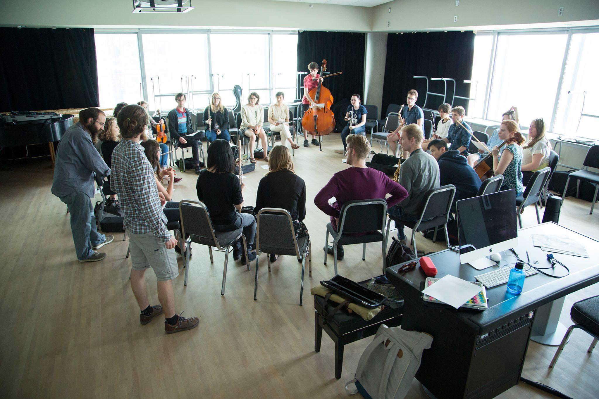 2016 Montreal Contemporary Music Lab Improvisation Workshop