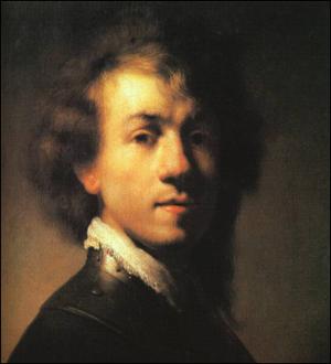 Rembrandt self portrait 1629