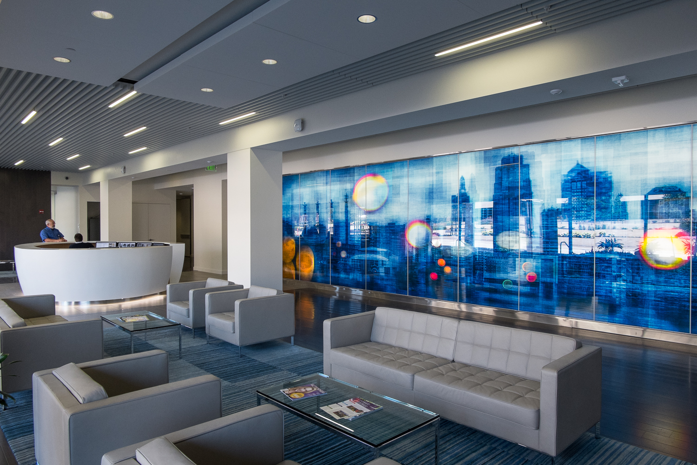 Blue Cross Blue Shield Entrance Lobby #2