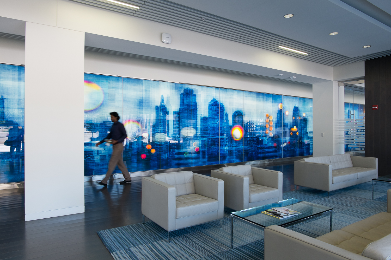 Blue Cross Blue Shield Entrance Lobby #3