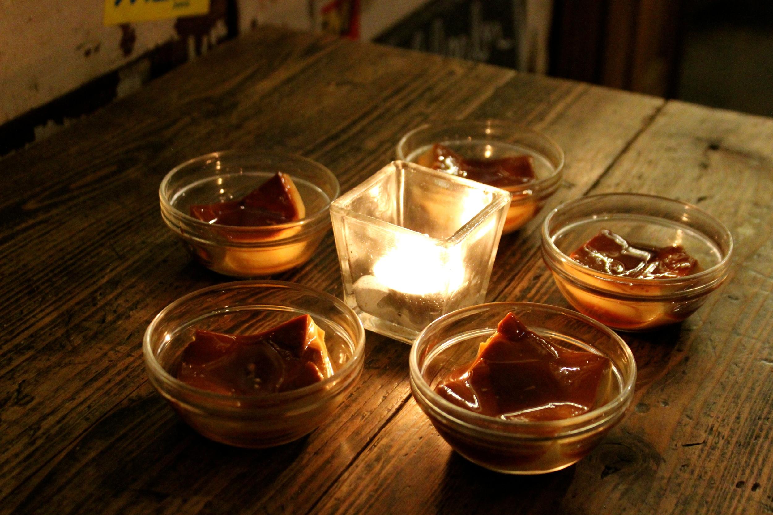 Home-made pudding