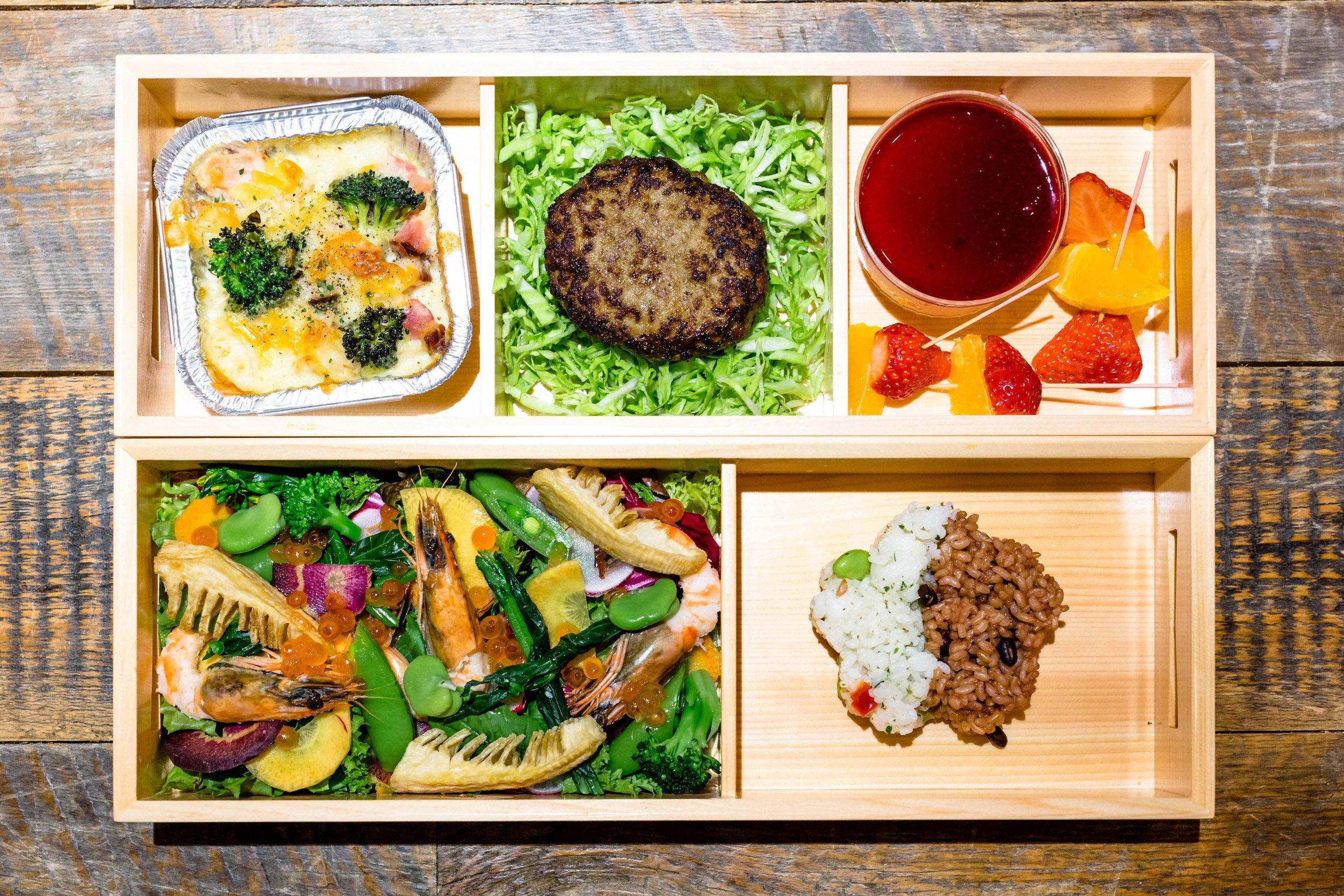 「四季御膳」弁当 ¥2,000