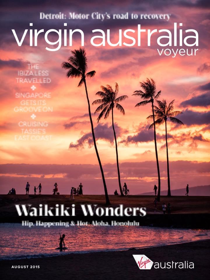 Virgin Australia Voyeur Magazine