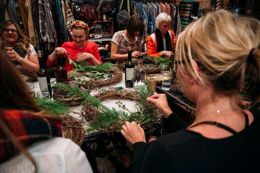 Eldorado Katoi Made Floral Eeberger Wreath Workshop
