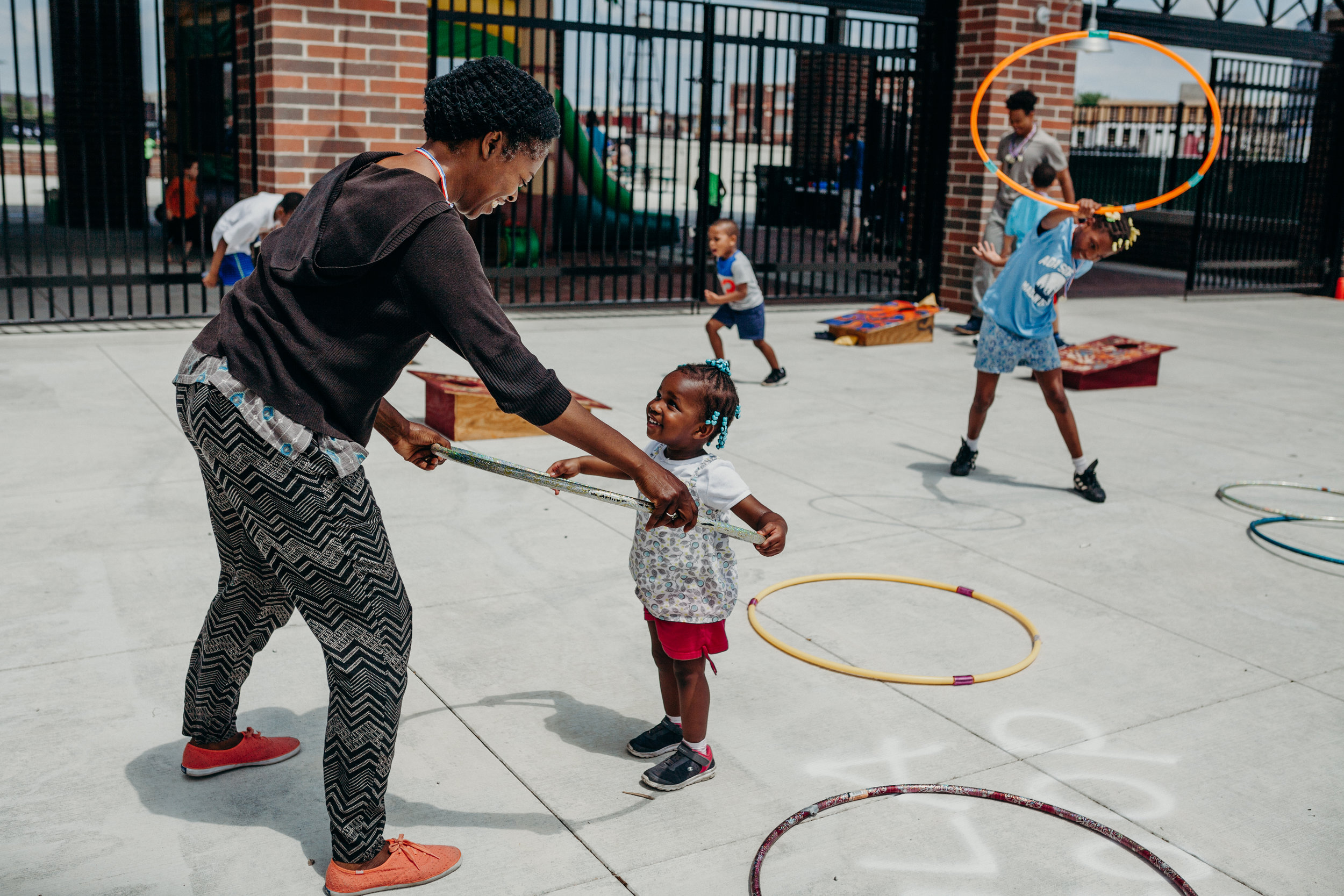 Hula hooping around at the 2nd Annual Spring Into Corktown founded by Erin Gavle / Photo by  Lydia Cournoyer Photography