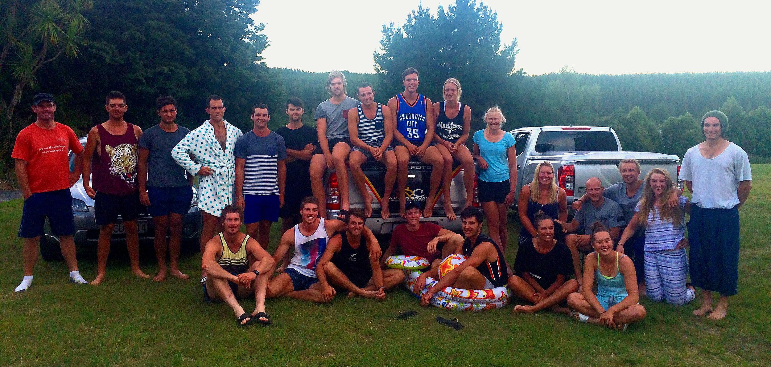 2015/16 Waikato Regional Performance Centre annual training camp