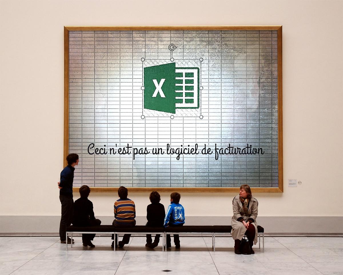 Excel is geen facturatieprogramma