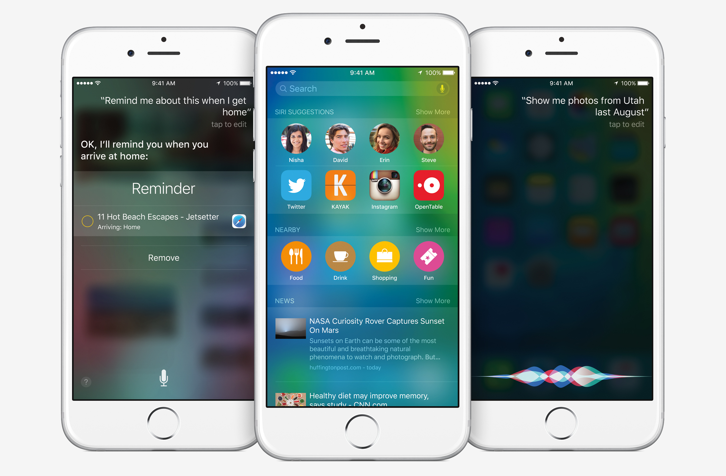 Apple's new iOS 9 operating system