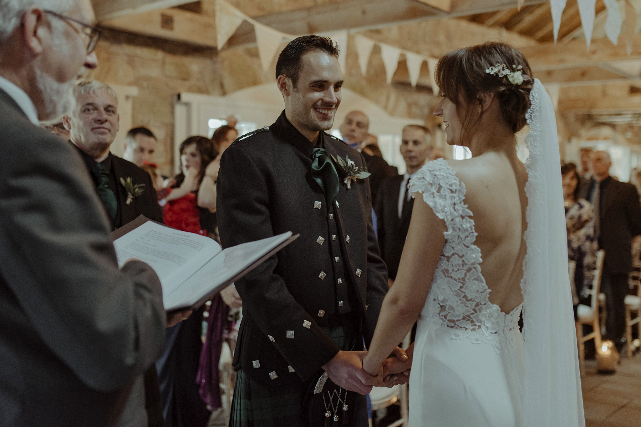 Wedderburn Barn Wedding