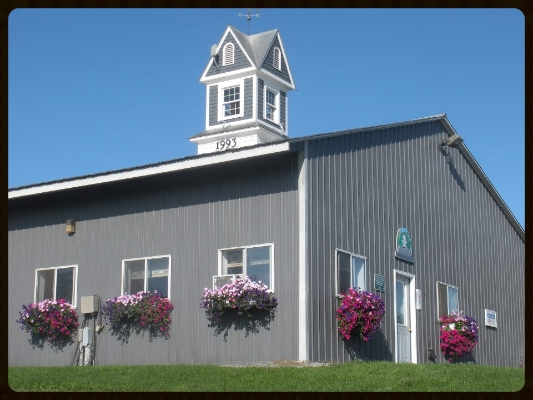"""This is our original location, the free stall and parlor were built in 1993 soon after the  formation of """"Fairmont Farm, Inc""""  ."""