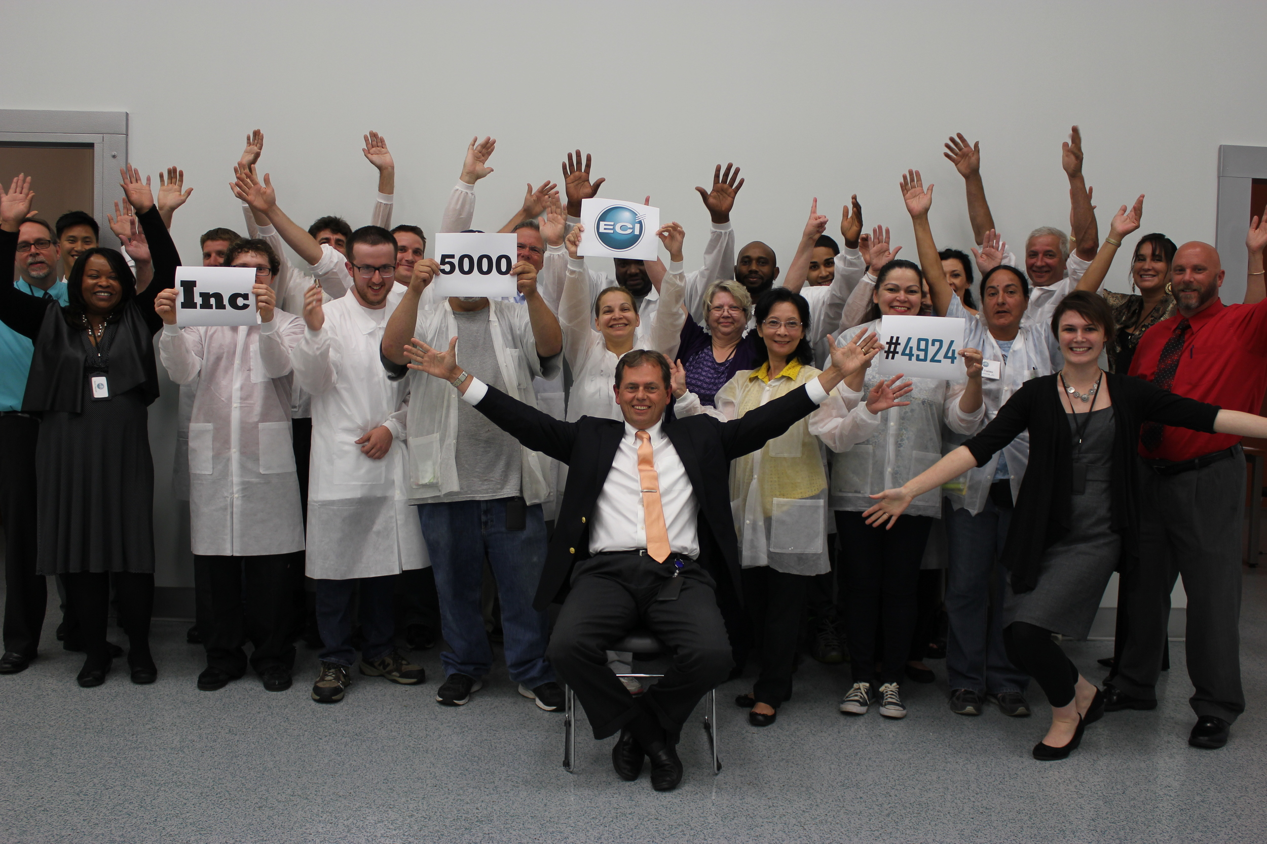 ECI Celebrates Making The Inc. 5000 in 2015