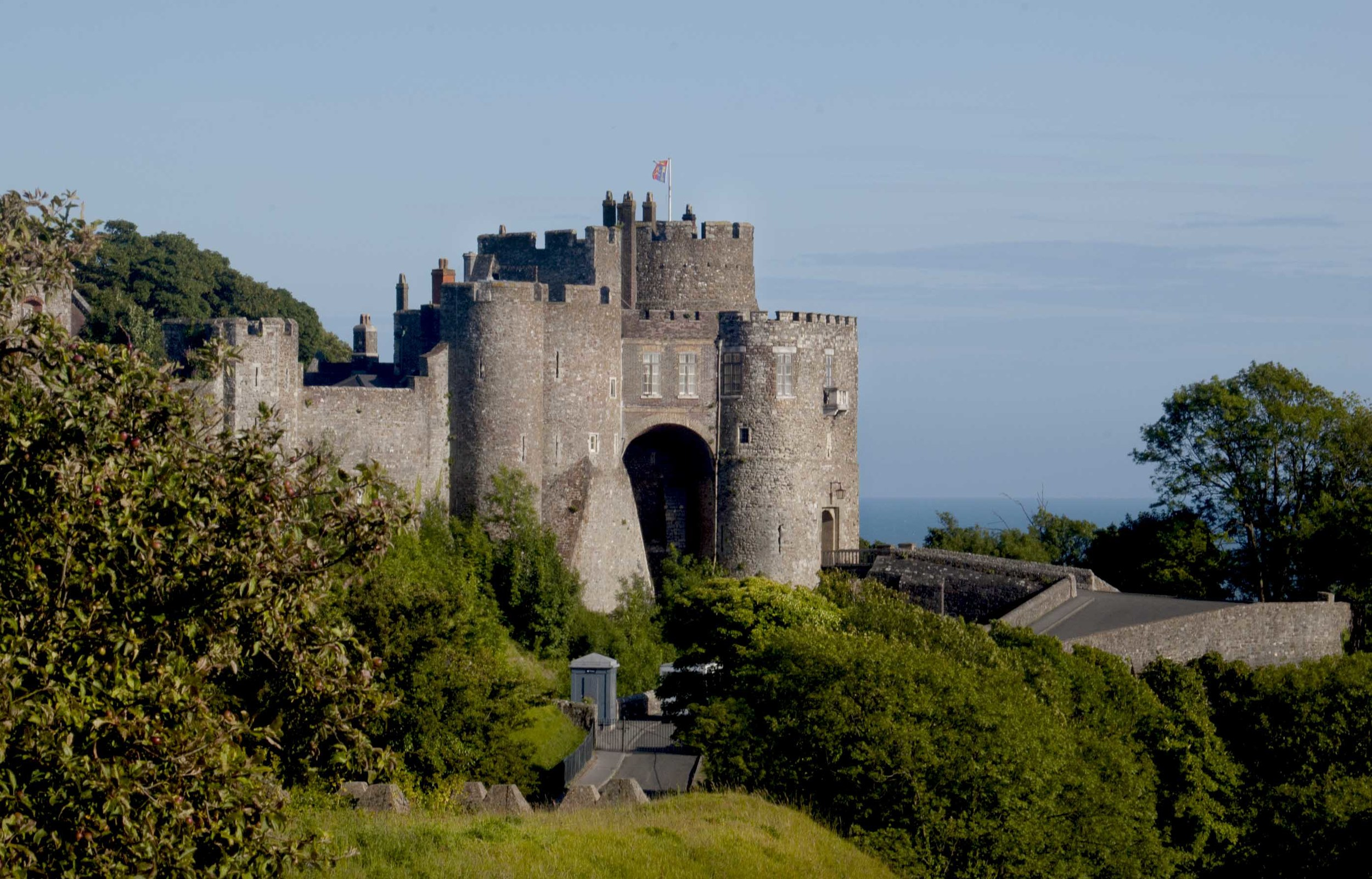 Dover Castle, by Rae Tan