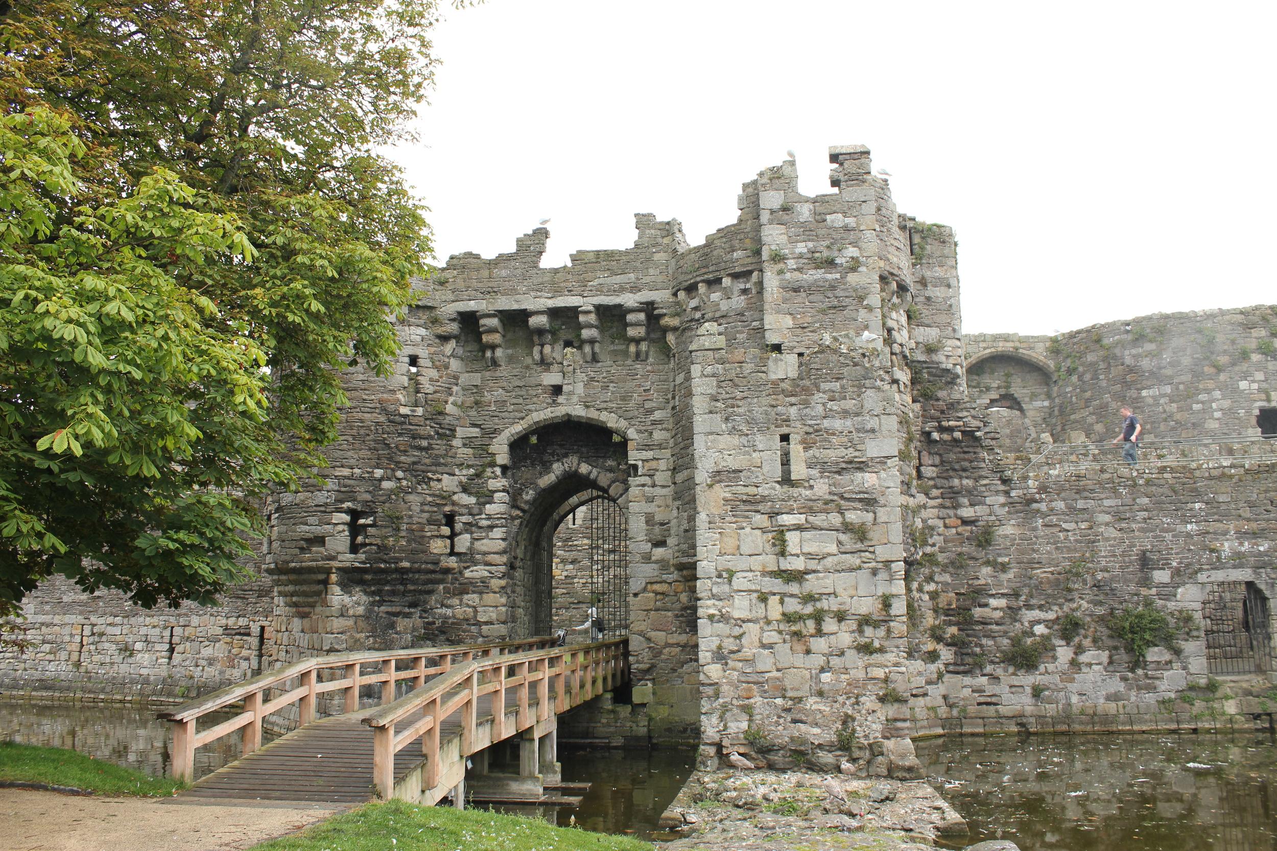 Beaumaris Castle today