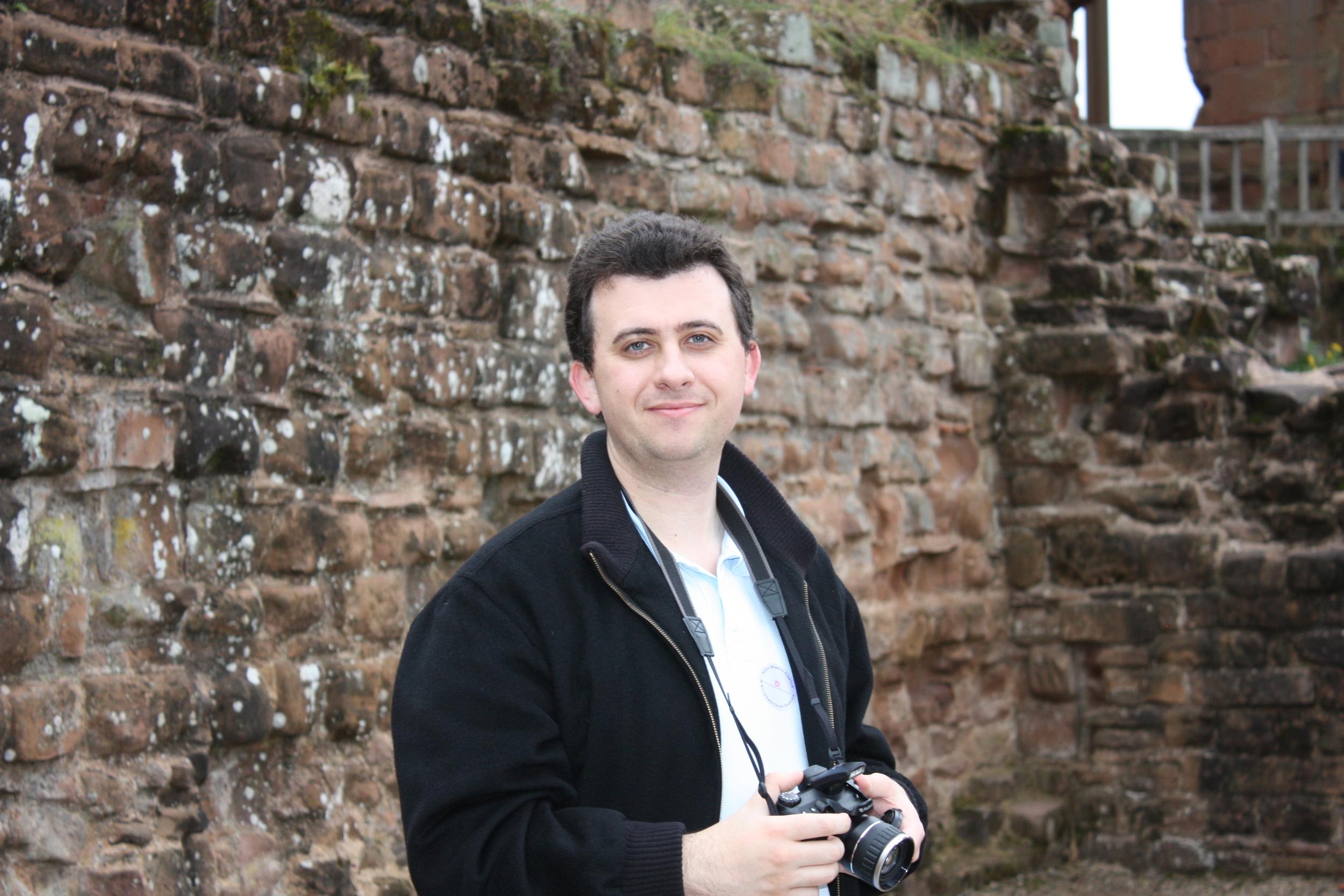 Joe at Kenilworth Castle