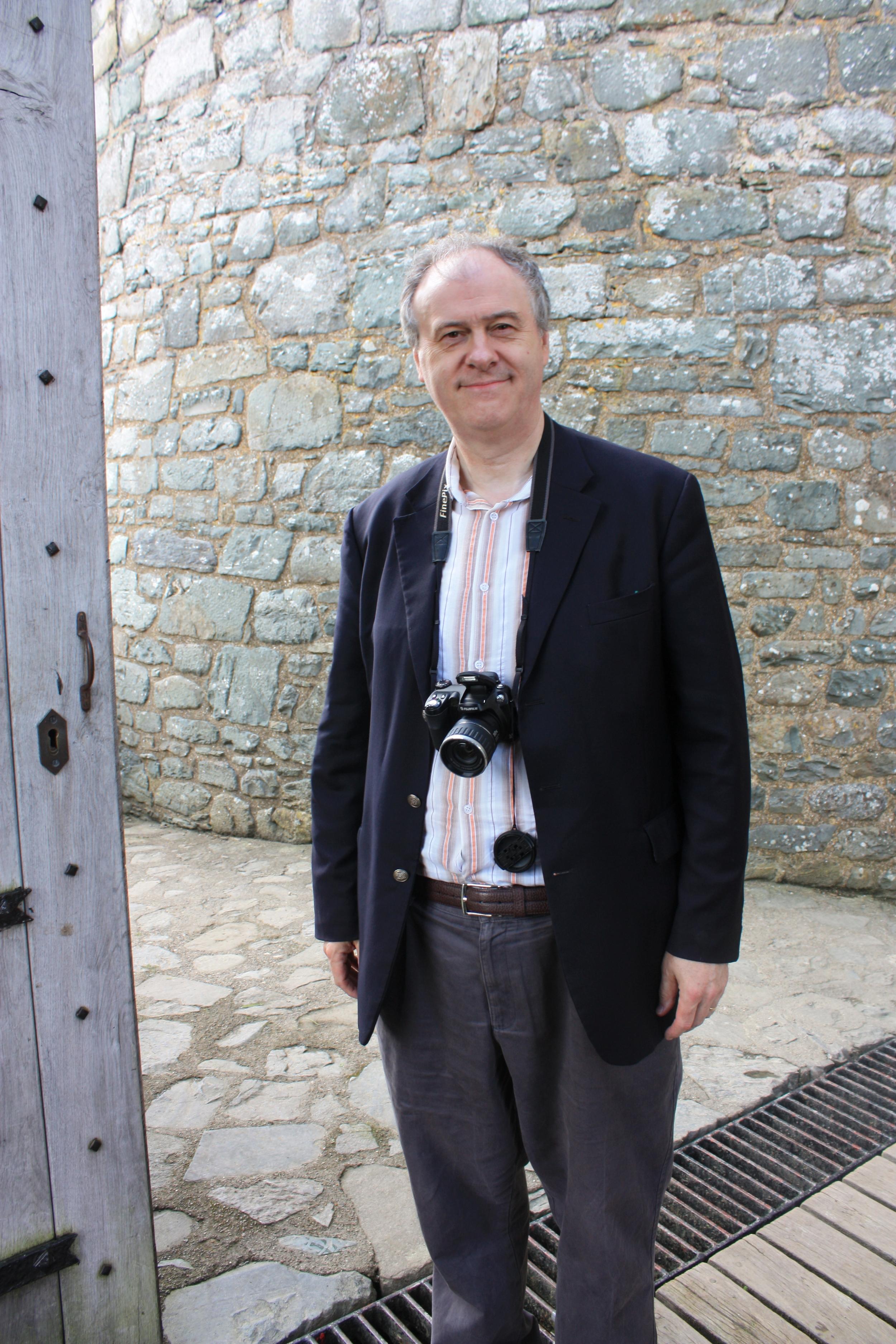 John at Harlech Castle