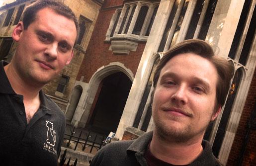 Dan and Mark of Chat Noir Productions Ltd.