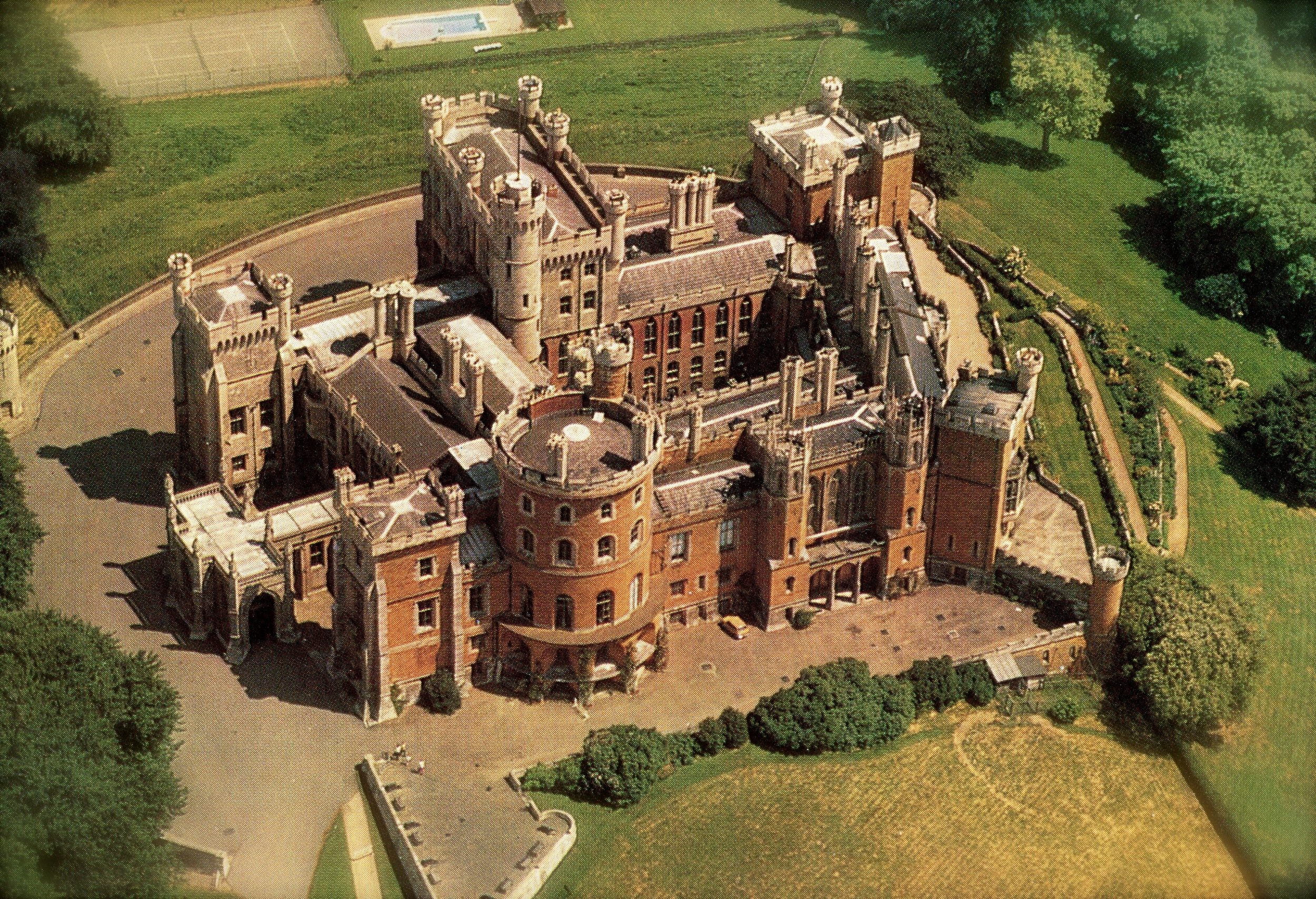 Belvoir Castle, England