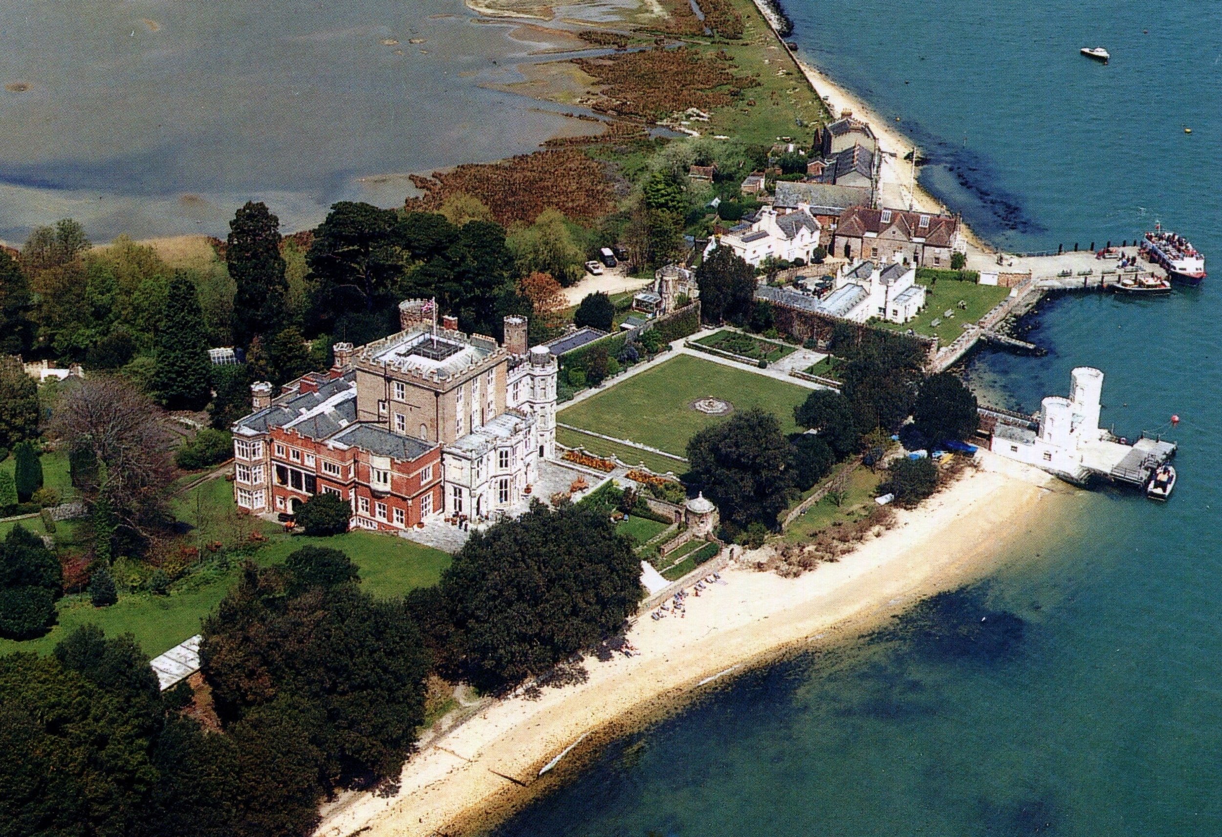 Brownsea Castle, England