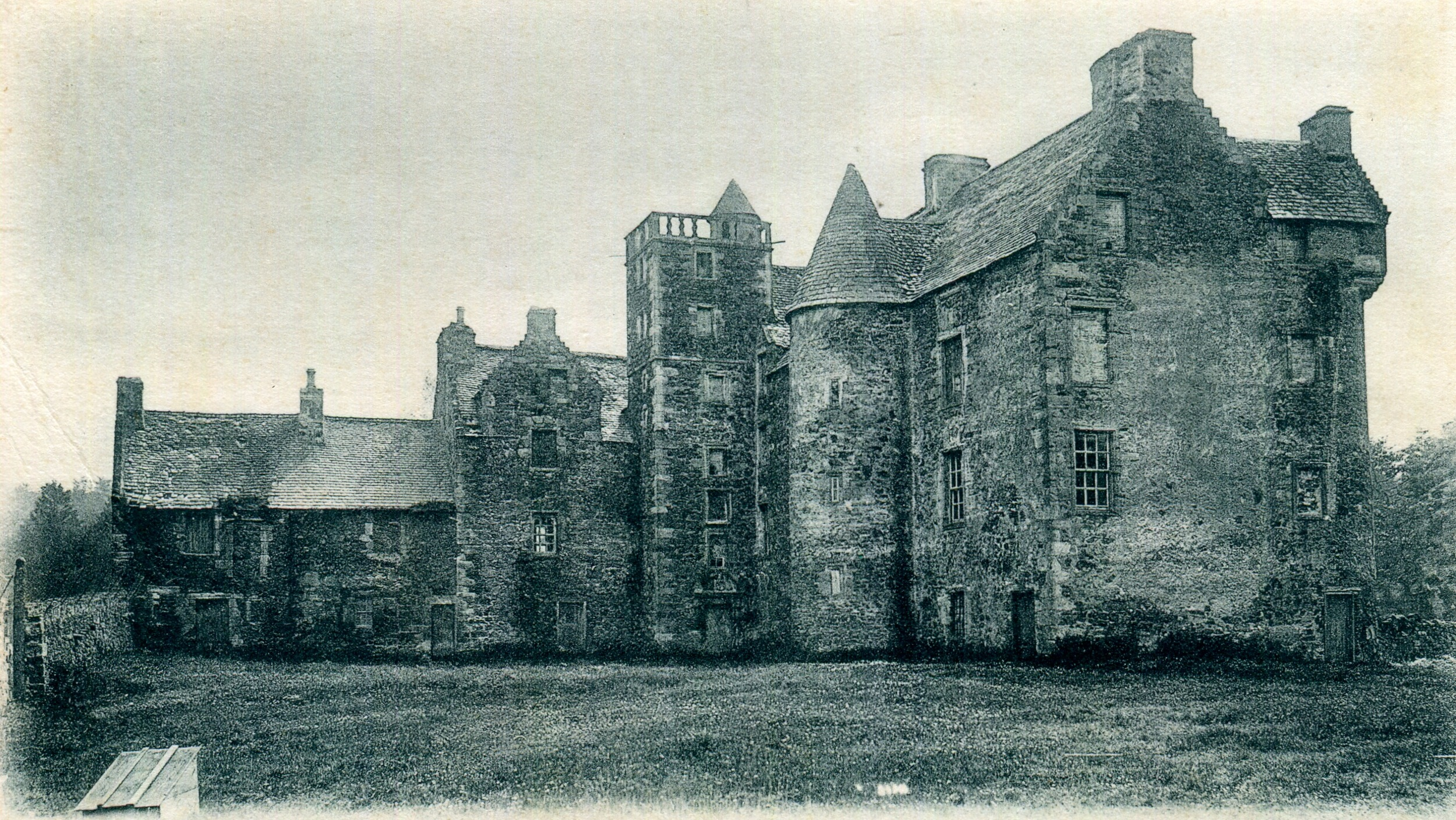 Old Auchan's Castle, Scotland